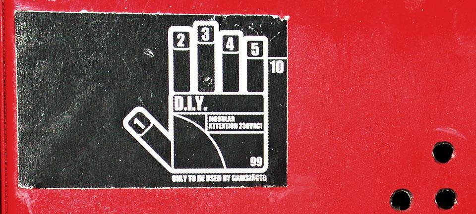 DIY Logo - Rainer Gamsjäger - 1999