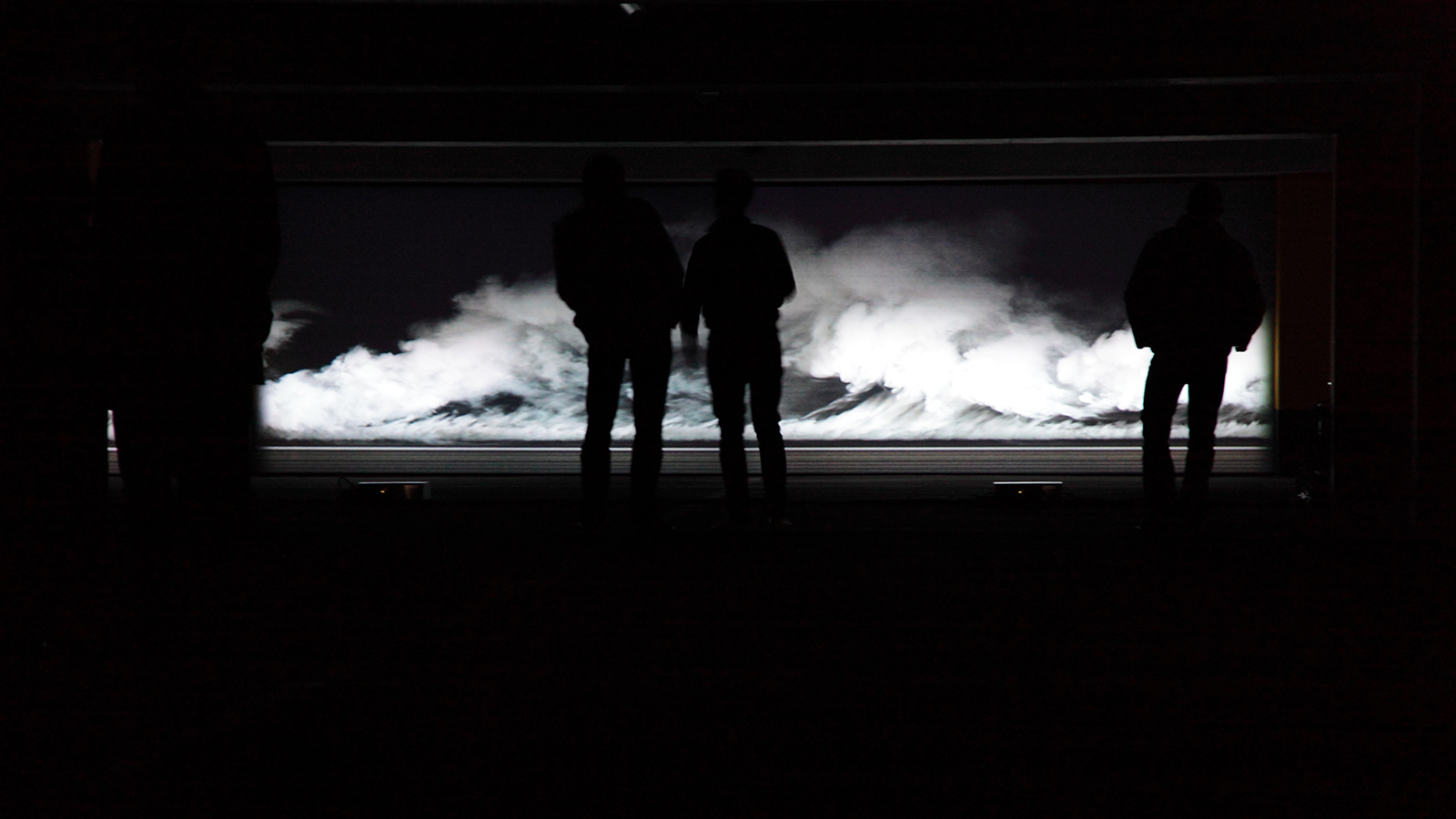 CLUSTER – Videoinstallation Parkdeck – OK Artist in Residence 2010