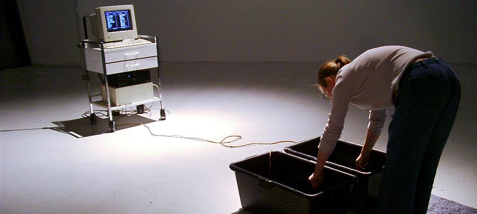 Installation Healingmachine - MAK Nite 2003
